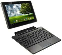 تبلت Tablet اسوس Asus Eee Pad Transformer TF101 - B105A  32GB نمای اجزای دستگاه