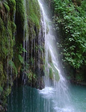 اینجـا ایـران است / تصاویر بسیار دیدنی آبشار کبودوال - علی آباد گلستان